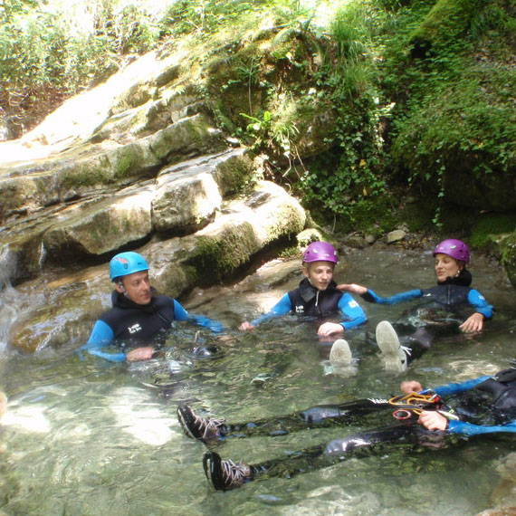 canyoning annecy montmin