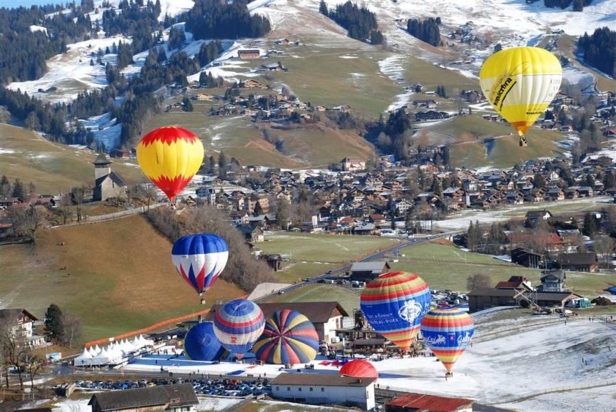 Activités sportives annecy montgolfiere