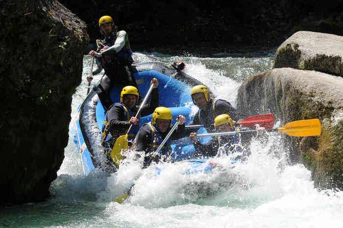 rafting annecy - speed