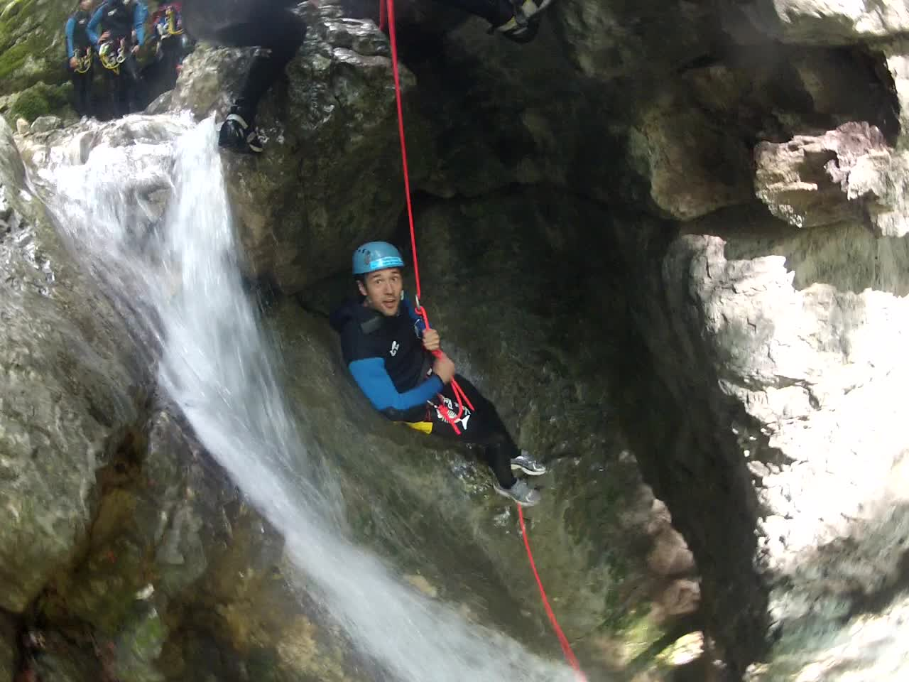Activités sportives annecy canyoning