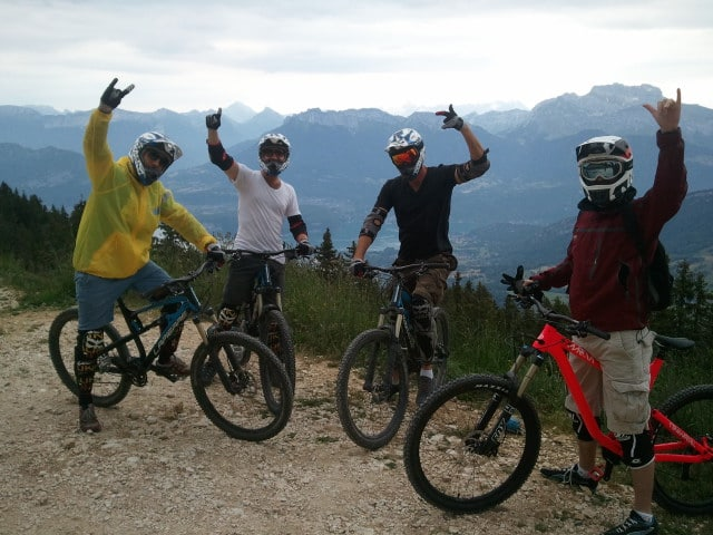 Descente VTT Annecy Freeride